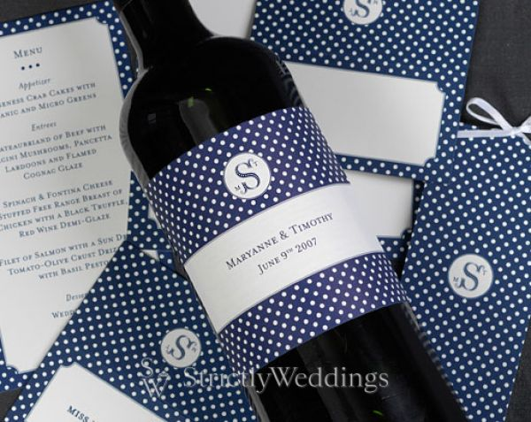personalized wine bottles for wedding favors