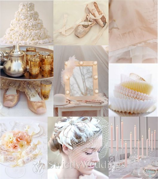 Wedding Color Inspiration Pink and Gold