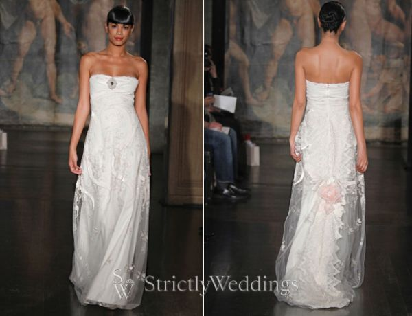 Claire Pettibone 39s Cherry Blossom Wedding Gowns at Dallas 39 Stanley Korshak