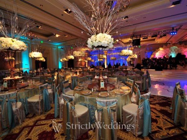 Wedding Reception Decor Ritzy Bold Lush
