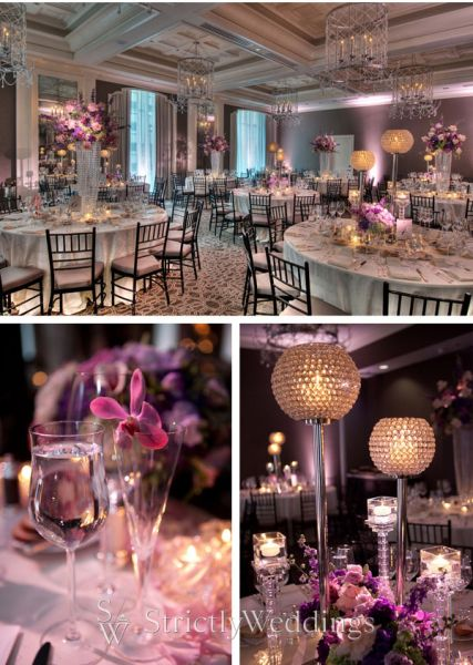 Wedding Receptions Candlelight and Centerpieces from Simple to Sublime