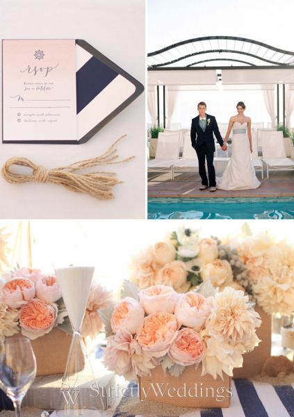 Wedding Themes Beaches and Nautical touches