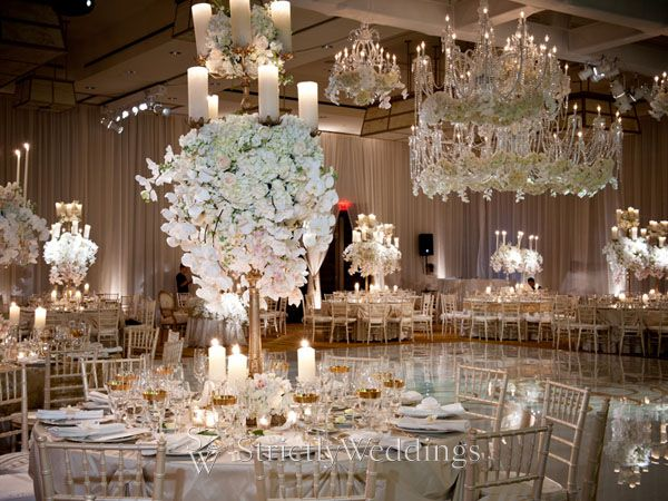 From Pigs in a Blanket to White Rose Chandeliers New York Wedding
