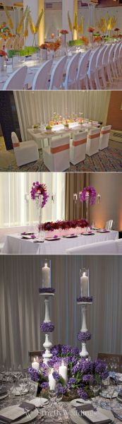 Wedding Trends – Elegant Wedding Receptions' Colors Punch
