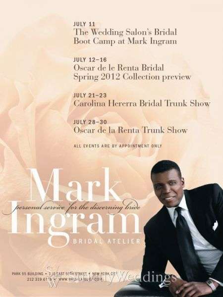 July Events at Mark Ingram Bridal Atelier