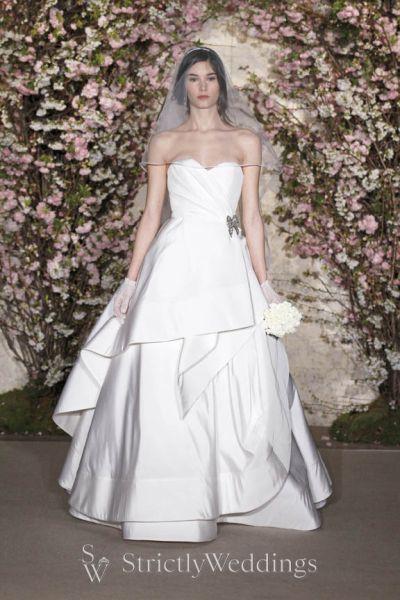 Couture bridal gowns oscar de la renta for Wedding dress rental new york