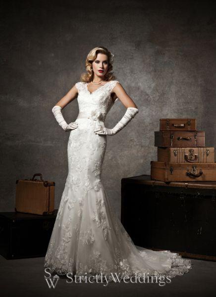 vintage wedding styles justin alexander bridal 2013 preview