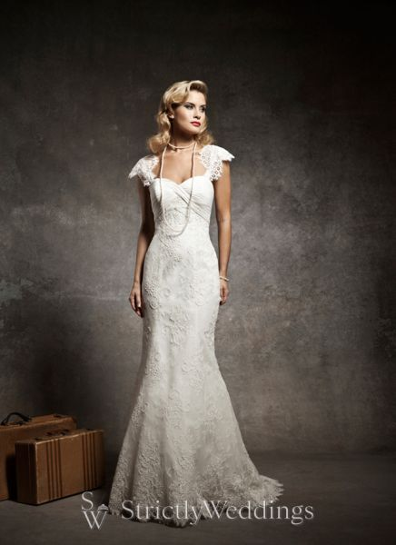 vintage inspired wedding gowns justin alexander bridal 2013 preview