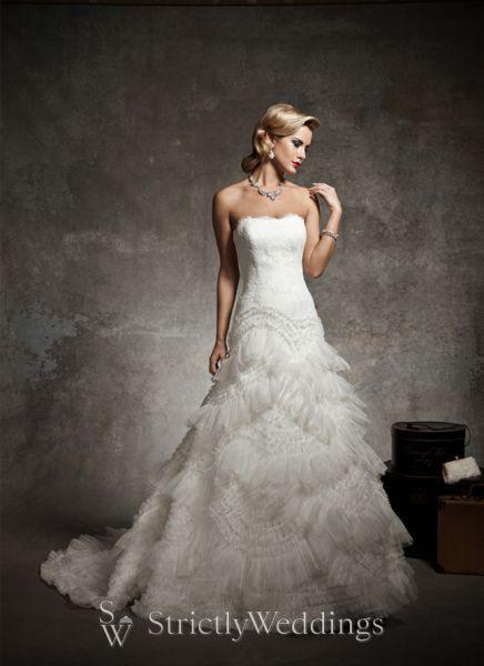 Vintage Wedding Styles | Justin Alexander Bridal 2013 Preview
