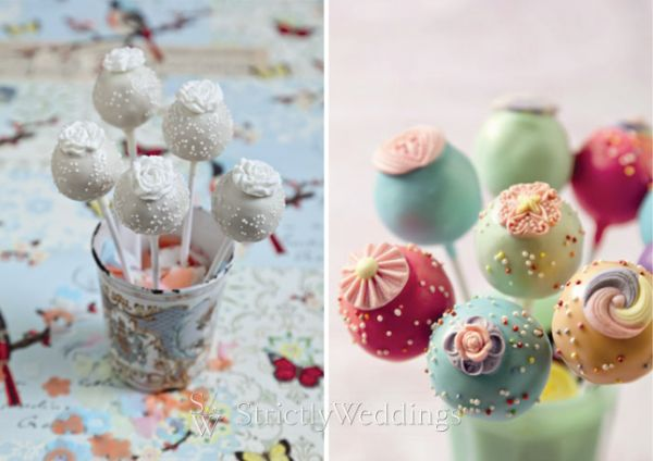 cake pops add pop to wedding desserts. Black Bedroom Furniture Sets. Home Design Ideas
