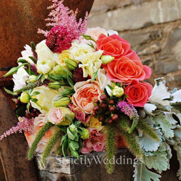 New York Wedding – Fall Bouquets