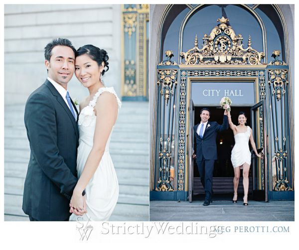 San francisco city hall wedding photographed by meg perotti strictly weddings junglespirit Images
