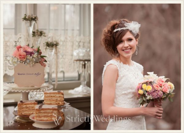 Vintage Styled Wedding Shoot