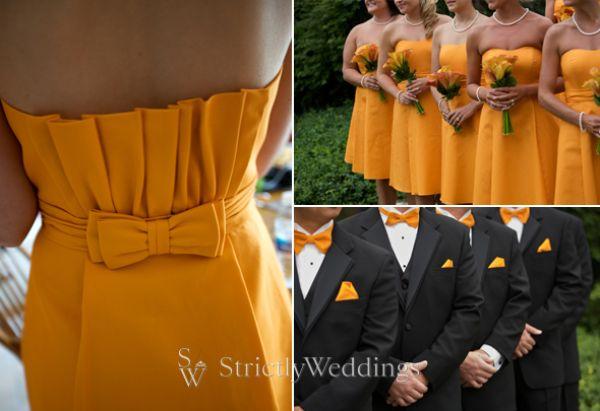 11 Gorgeous Yellow, Orange, And Green   Wedding