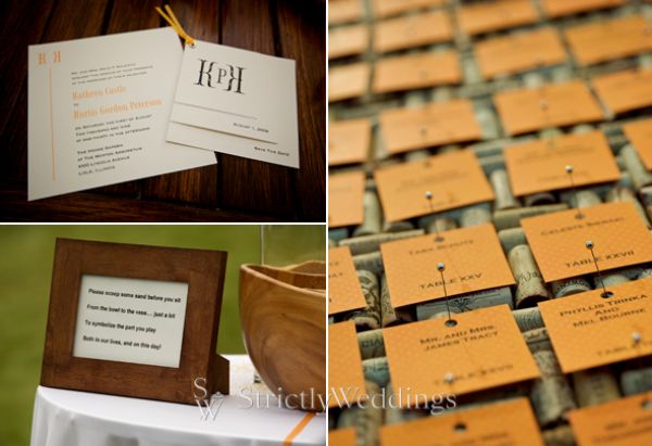 21 Gorgeous Yellow, Orange, And Green   Wedding