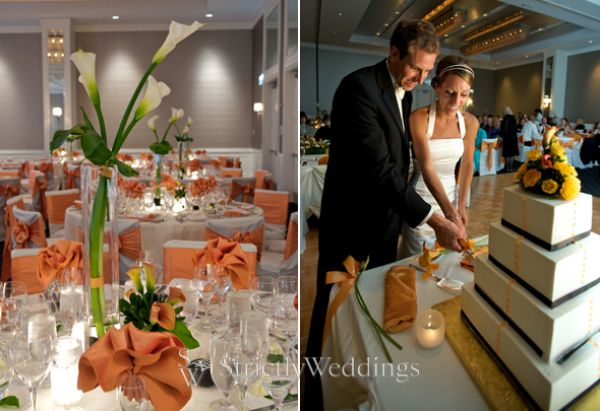 6 Gorgeous Yellow, Orange, And Green   Wedding