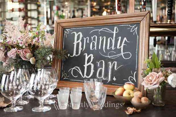 rustic brandy bar1 Modern Rustic Weddings