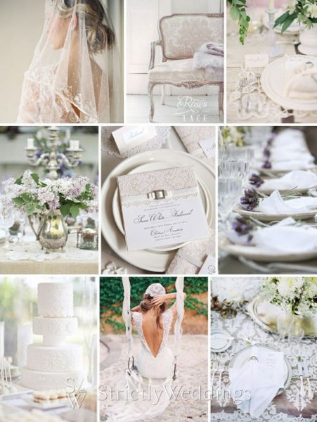 Vintage, Lace, and Modern Inspiration | Strictly Weddings