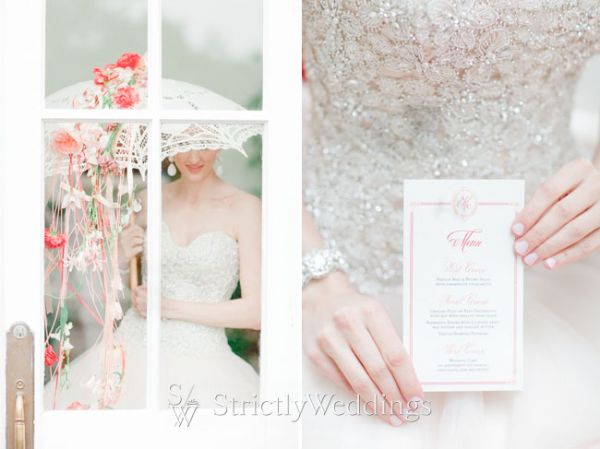 Happily Ever After in Coral and Poppy Red