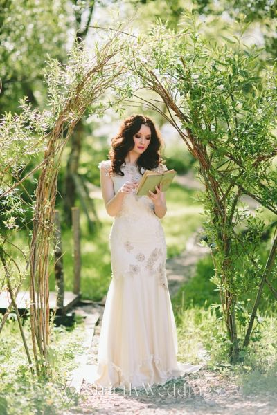 Whimsical Outdoor Weddings In The Woods