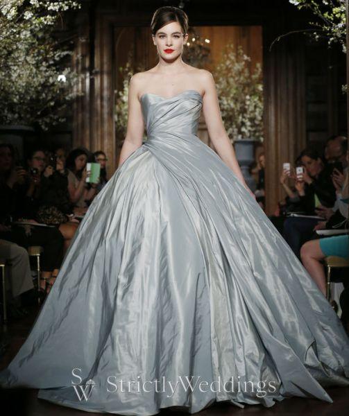 Unique Wedding Dresses With Color: Designer Bridal Gowns