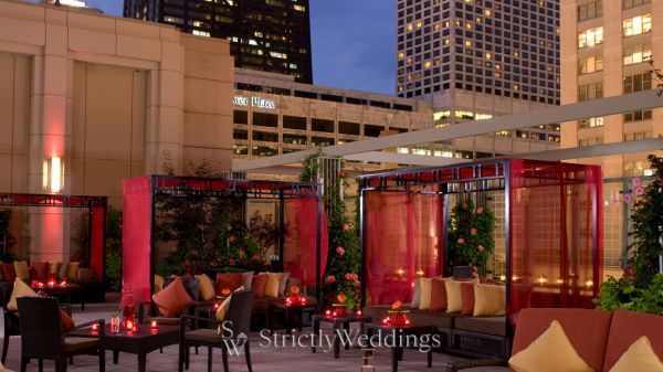 Nac rooftop terrace wedding
