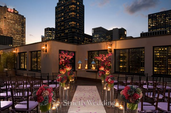 Dramatic Rooftop Weddings