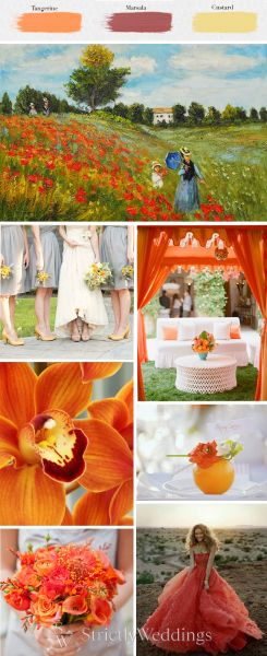 Spring 2015 Wedding Color Trends