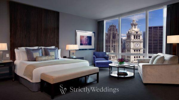 Chicago Luxury Weddings Trump International Hotel