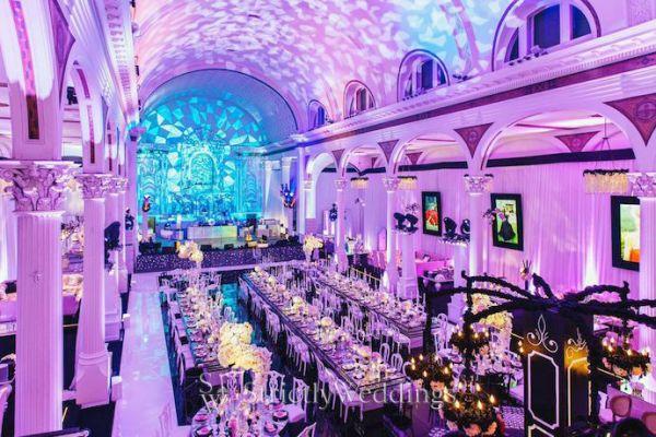 Luxury Wedding Venue Plans: L.A. Luxury Wedding Transformations
