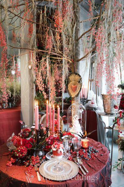Intimate Valentines Day Tea Zita Elze Flowers Strictly Weddings