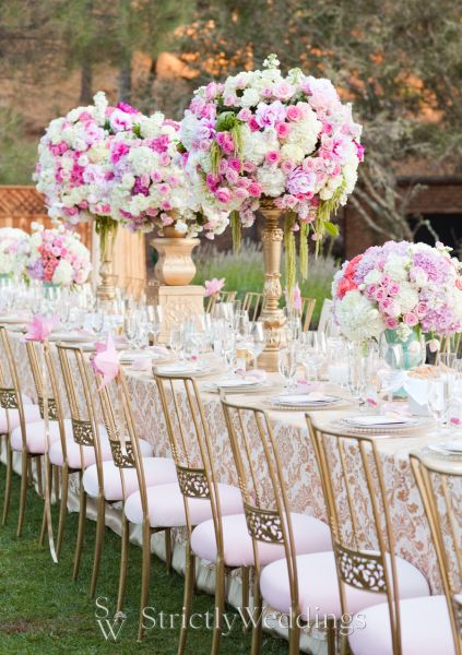 Wedding Dining Trends Grandeur Of King S Tables