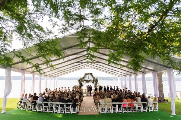Tented outdoor wedding by bliss weddings events strictly weddings luxury lake geneva outdoor wedding by bliss weddings events junglespirit Images