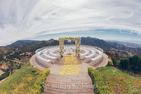Mountain High Love Malibu Estate Wedding
