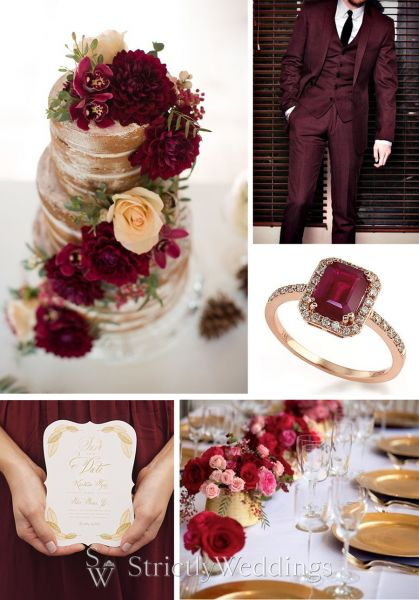 Marsala fall winter 2015 color trends strictly weddings marsala fall winter 2015 color trends junglespirit Images