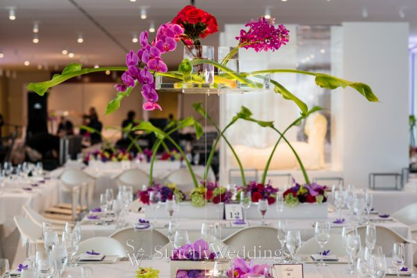 Modern wedding decor hmr designs chicago chicago chic modern wedding decor by hmr designs junglespirit Image collections