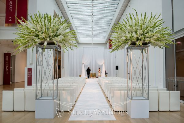 modern wedding decor hmr designs chicago