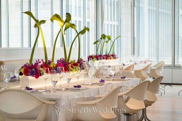 Chicago Chic | Modern Wedding Decor by HMR Designs