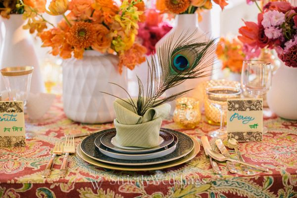 Divine Wedding Table Settings from Luxe Linen