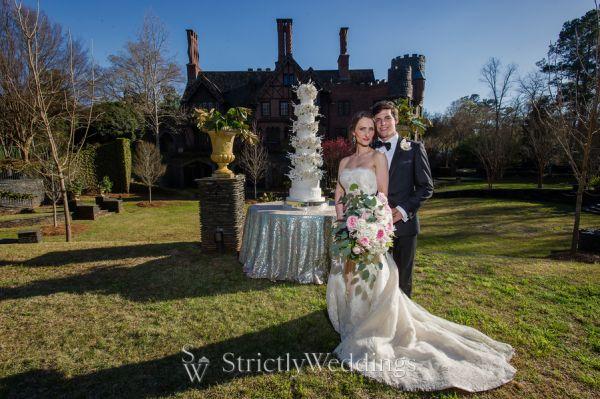 Spellbinding Georgia Castle Wedding Styled Shoot