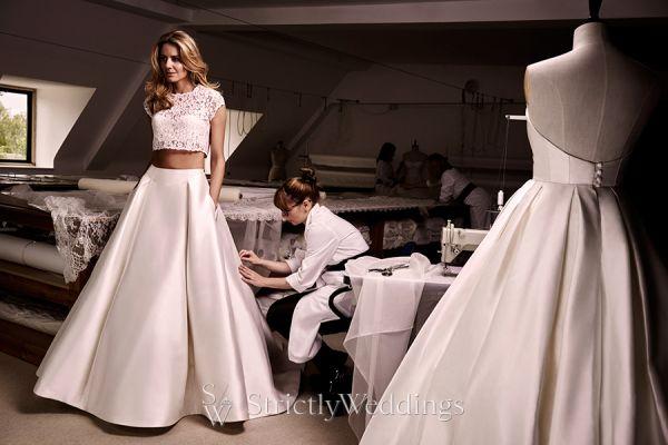 Exclusive Caroline Castigliano Designer Interview | Strictly Weddings