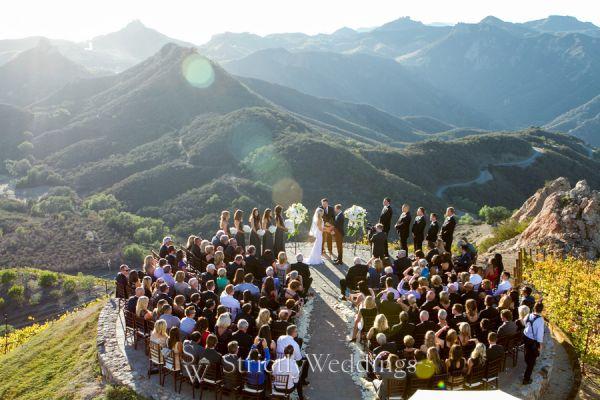 Malibu Rocky Oaks Estate Vineyard Wedding