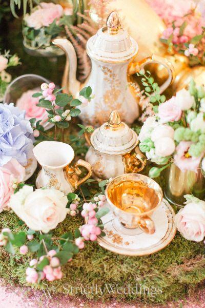 Whimsical Wedding Day with Alice in Weddingland