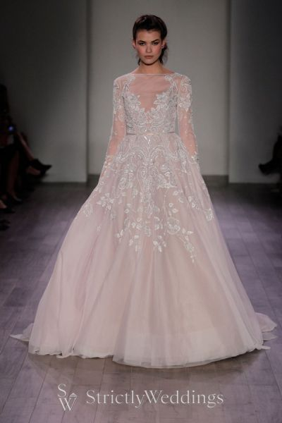 Hayley paige spring 2016 6600 hayley strictly weddings for Rent wedding dress chicago