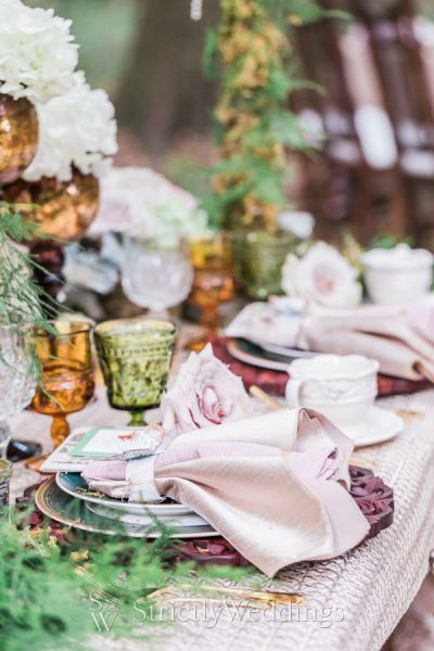 Enchanted Woodland Wedding