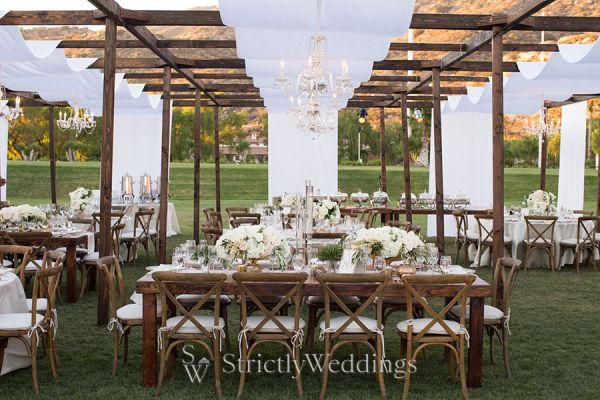 Rustic Chic Wedding At Hummingbird Nest Ranch Strictly Weddings