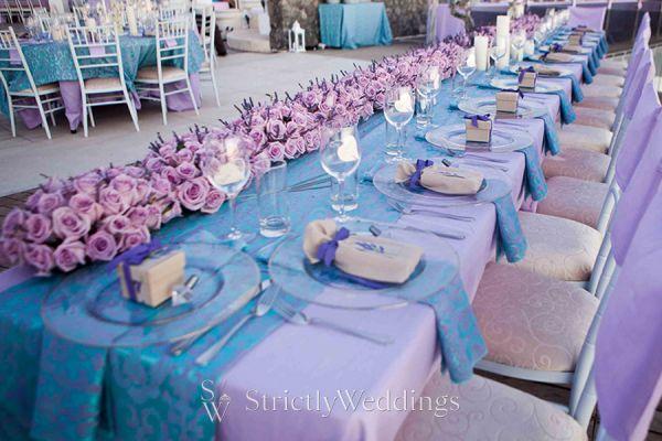 Lavender Wedding in Santorini | Strictly Weddings