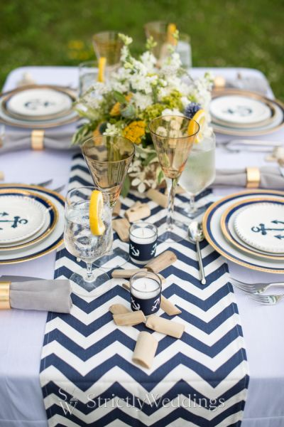 nautical table decorations for weddings set sail with nautical wedding ideas strictly weddings 6102