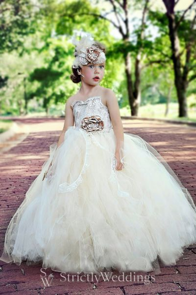 Tutu Flower Girl Dresses to Couture Designs | Strictly Weddings