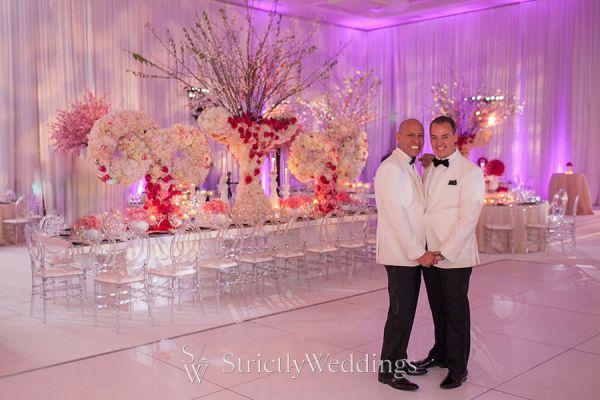 Cherry Blossom Wedding in California